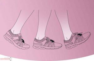 شمارش گام ها با بستن مچ بند Honor Band 3 به کفش
