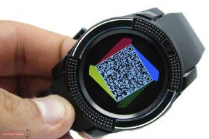 نصب اپلیکیشن ساعت هوشمند اس دبلیو مدل Metal Face با استفاده از بارکد