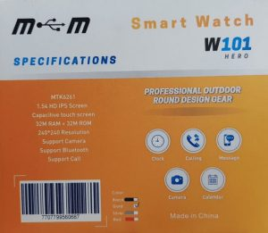 امکانات ساعت هوشمند G-Tab W101 Hero