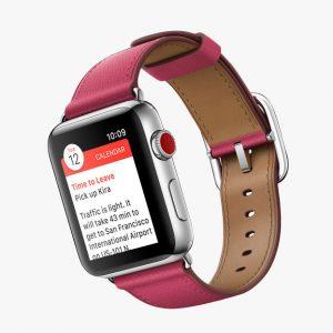 نمایش اعلانات در اپل واچ 3