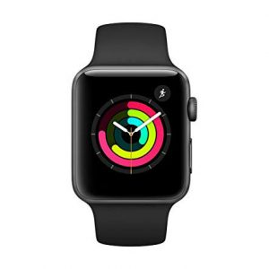 ساعت هوشمند اپل واچ ۳ مدل ۴۲ میلی متر – Apple Watch 3 42mm Space Gray Aluminum Case with Black Sport Band