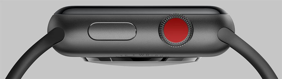 دکمه Application Dock در اپل واچ 3