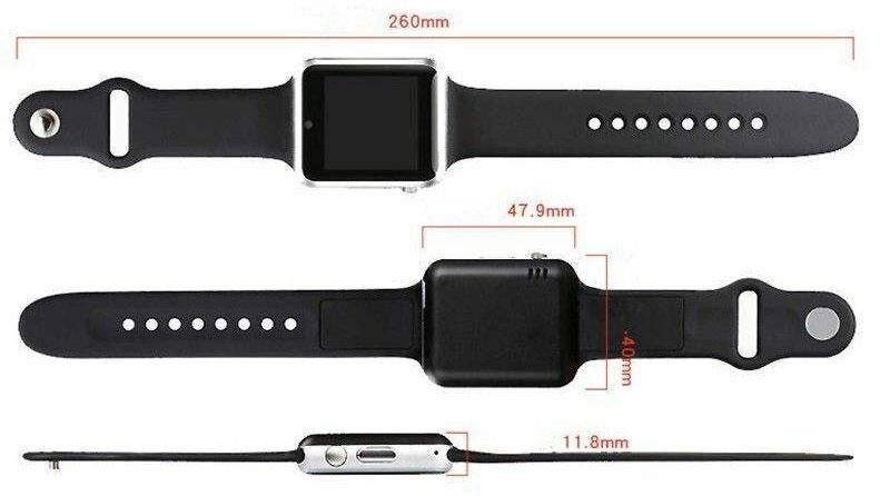 ابعاد ساعت هوشمند مدل A1