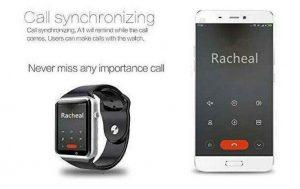 قابلیت اتصال ساعت هوشمند A1 به گوشی های هوشمند