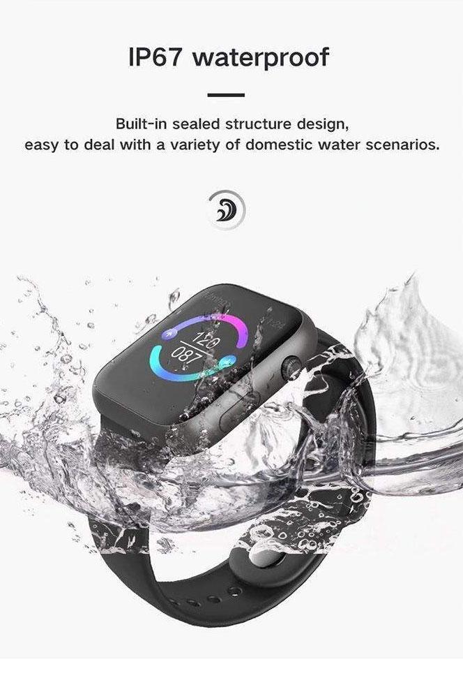 قابلیت مقاومت در برابر آب در ساعت SX16