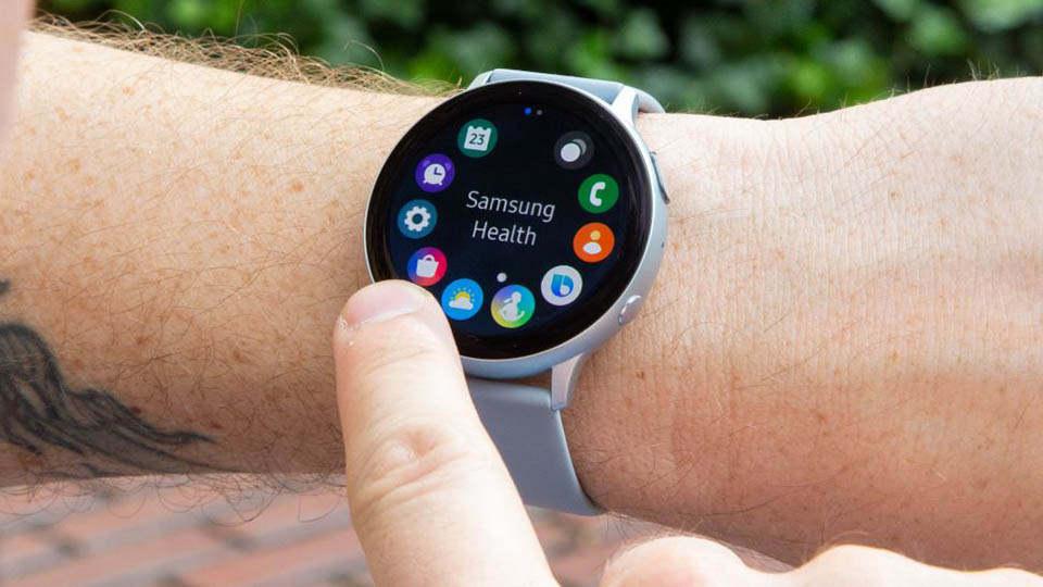 رابط کاربری ساعت هوشمند Galaxy Watch Active 2