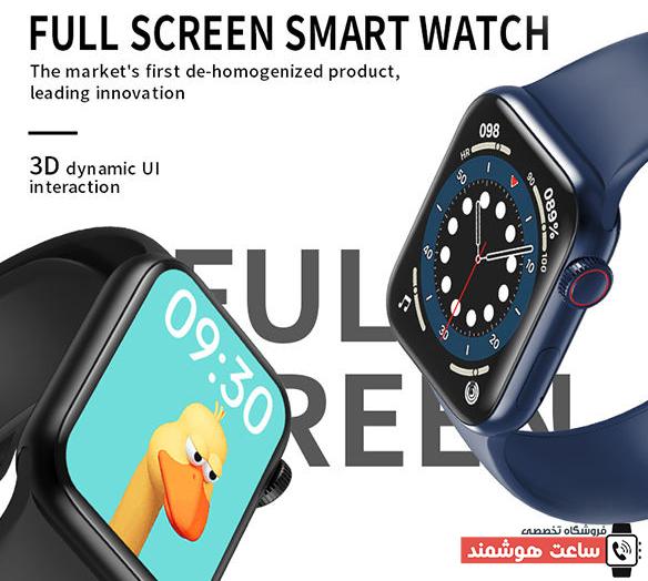 ٌصفحه نمایش ساعت هوشمند HW12