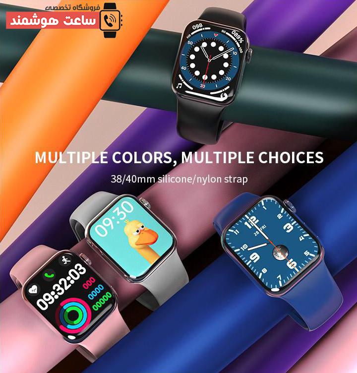 رنگ بندی ساعت هوشمند مدل HW12
