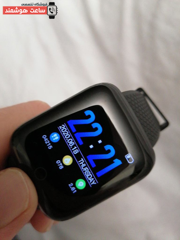 ساعت هوشمند پلاس 116
