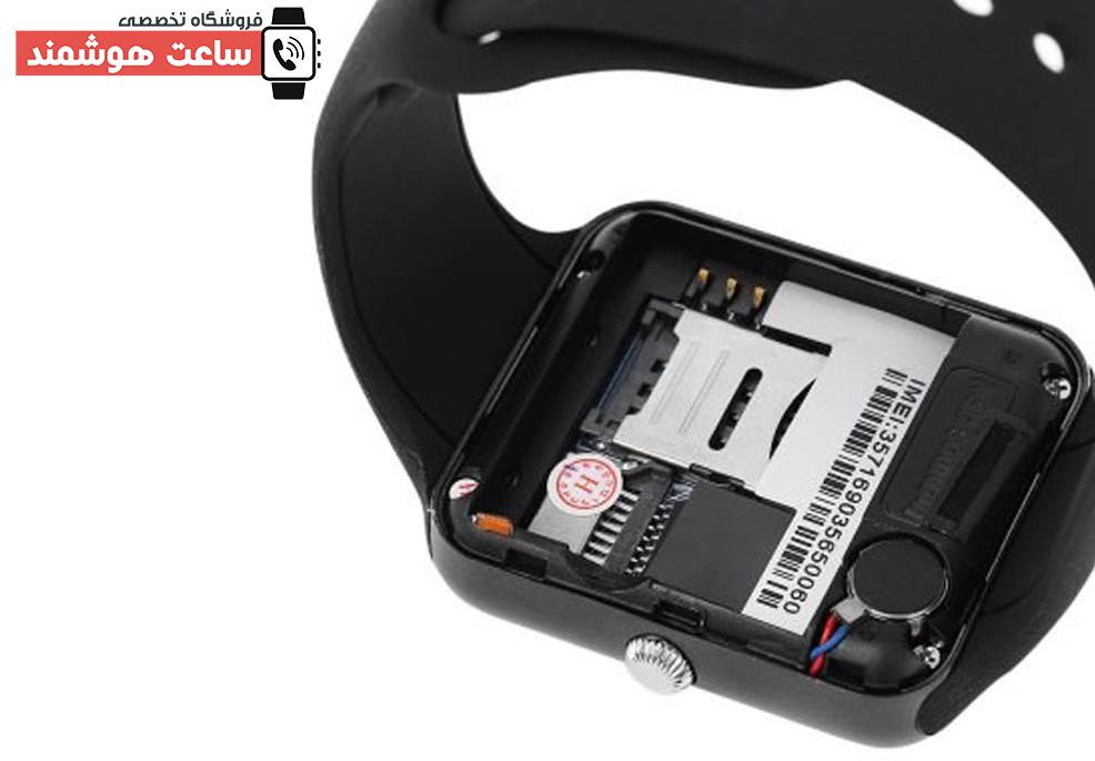 قابلیت نصب سیم کارت ساعت هوشمند Q7SP