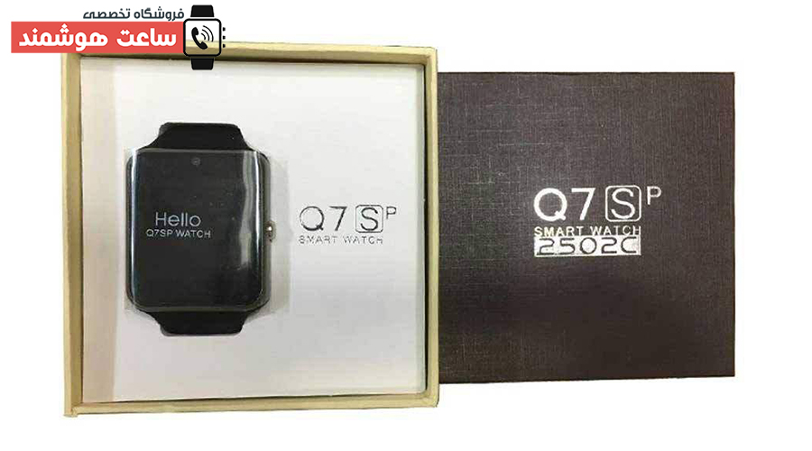 بسته بندی ساعت هوشمند Q7SP