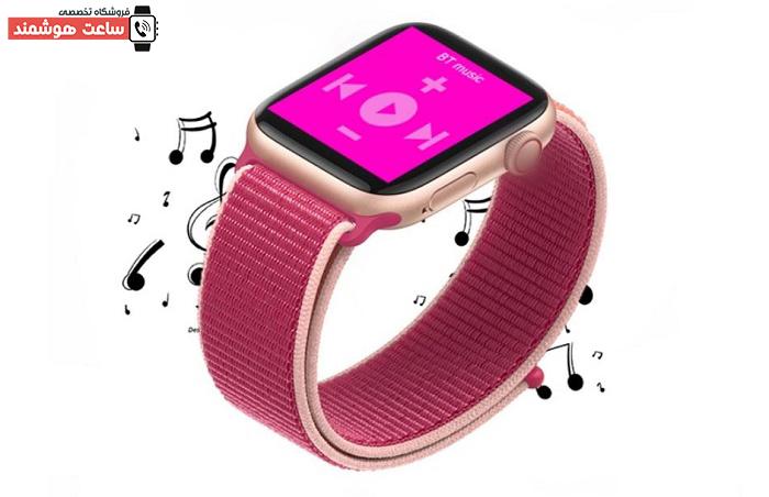 امکان کنترل موسیقی ساعت هوشمند تاچ لاین مدل Touch Line TL2646