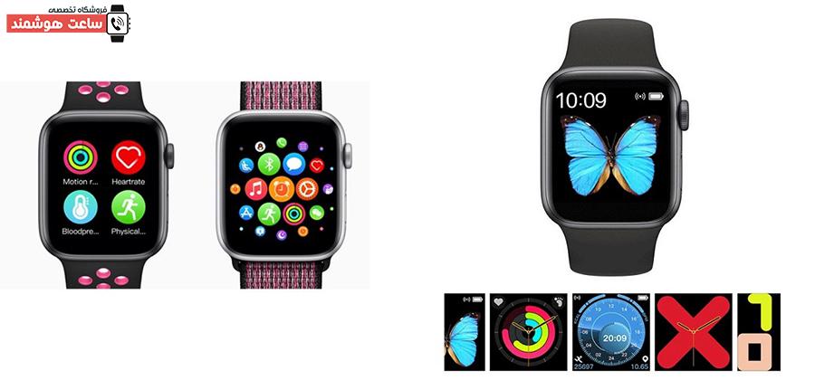 امکان تغییر ظاهری ساعت هوشمند مدل T5s