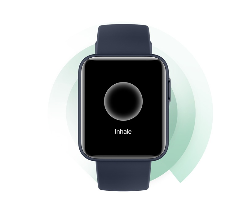 اپلیکیشن تمرین تنفس ساعت Mi Watch Lite