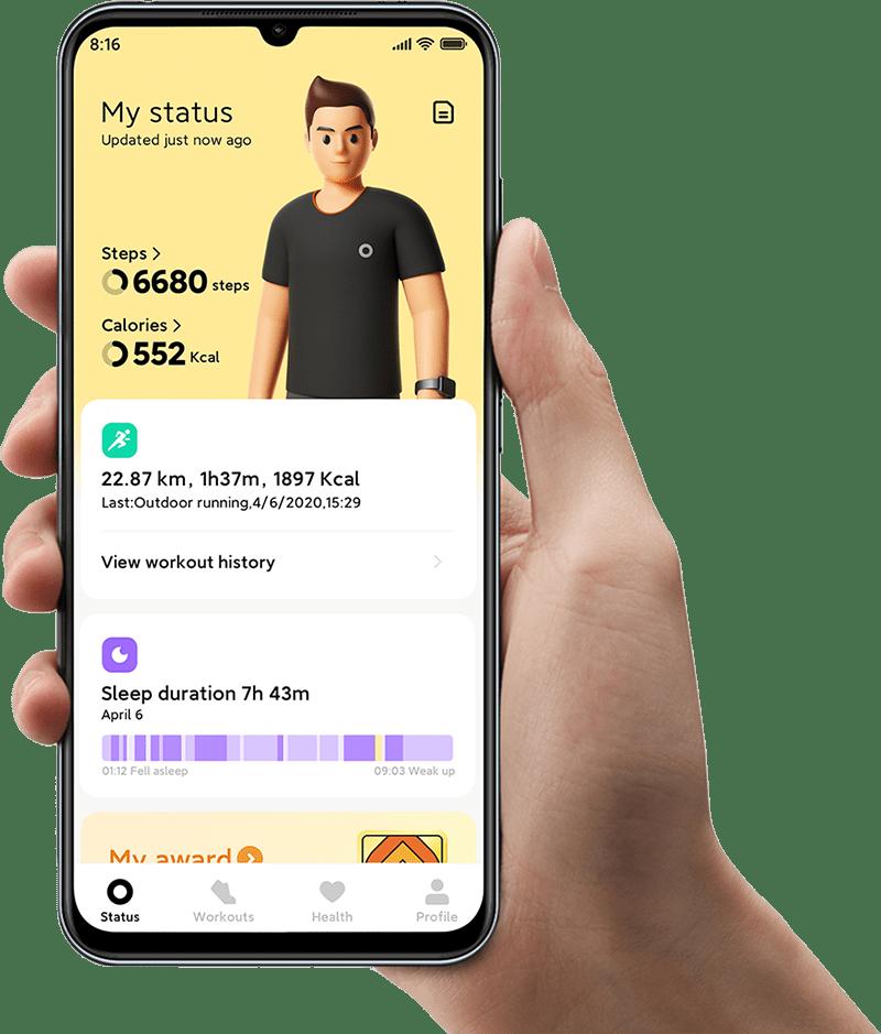 اپلیکیشن موبایلی ساعت هوشمند می واچ لایت