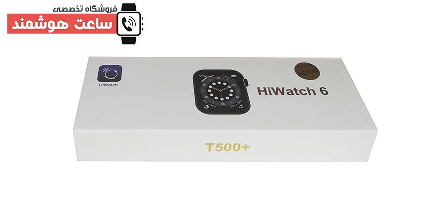 ساعت هوشمند T500+