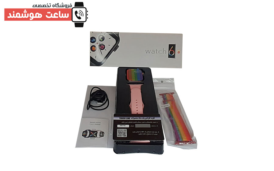 آنباکسینگ ساعت هوشمند تاچ لاین TL-26116