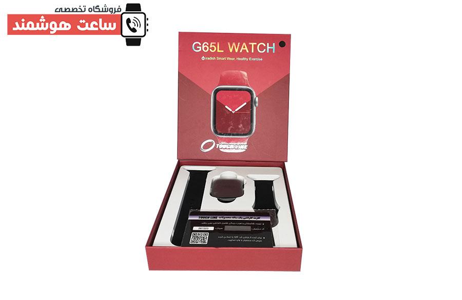 رنگ مشکی ساعت هوشمند تاچ لاین TL-26134