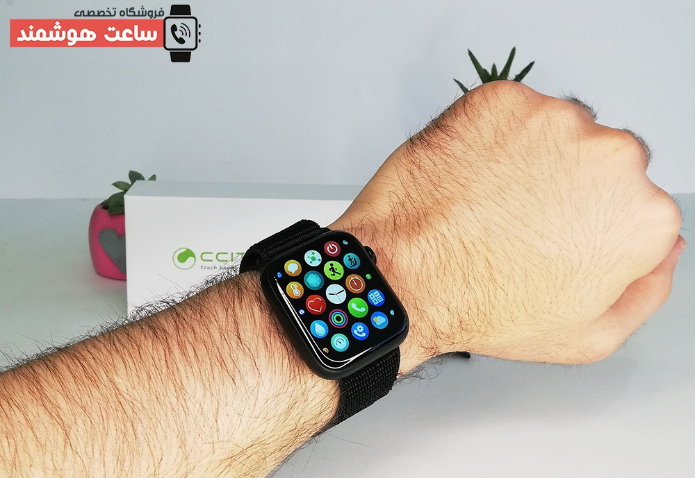 ساعت هوشمند CT1 در مچ دست