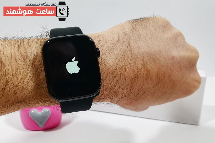 لوگوی اپل در اسمارت واچ HT99