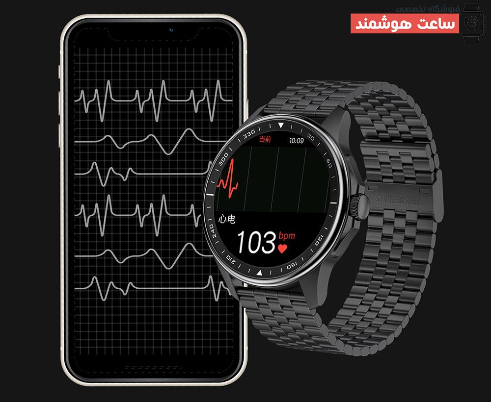 سنسور نوار قلب ساعت هوشمند SK3