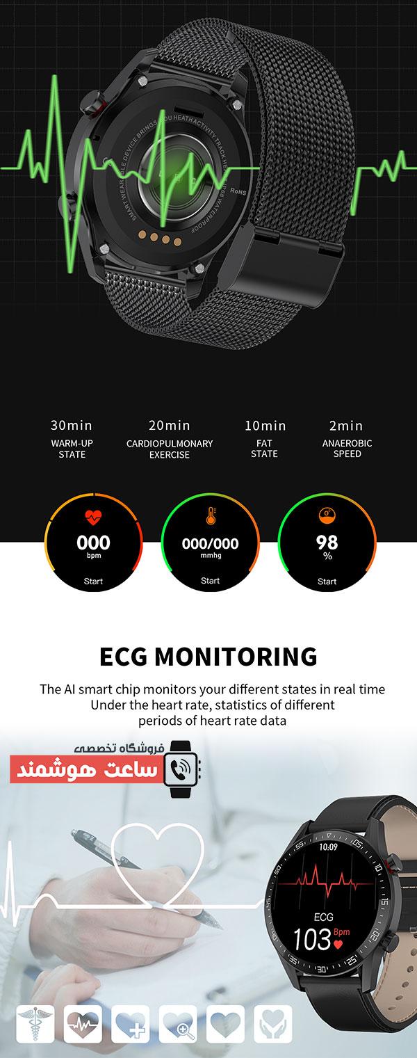 سنسورهای سلامتی ساعت هوشمند SK7