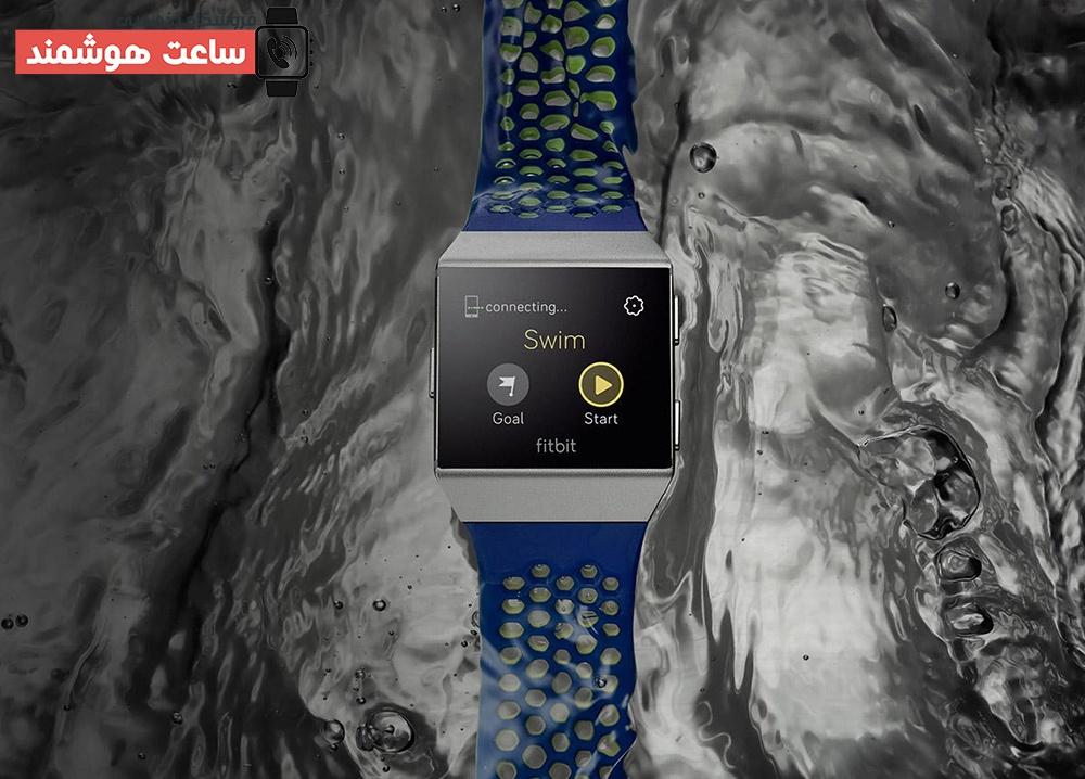 ساعت هوشمند Fitbit مدل Ionic مقاوم در برابر آب