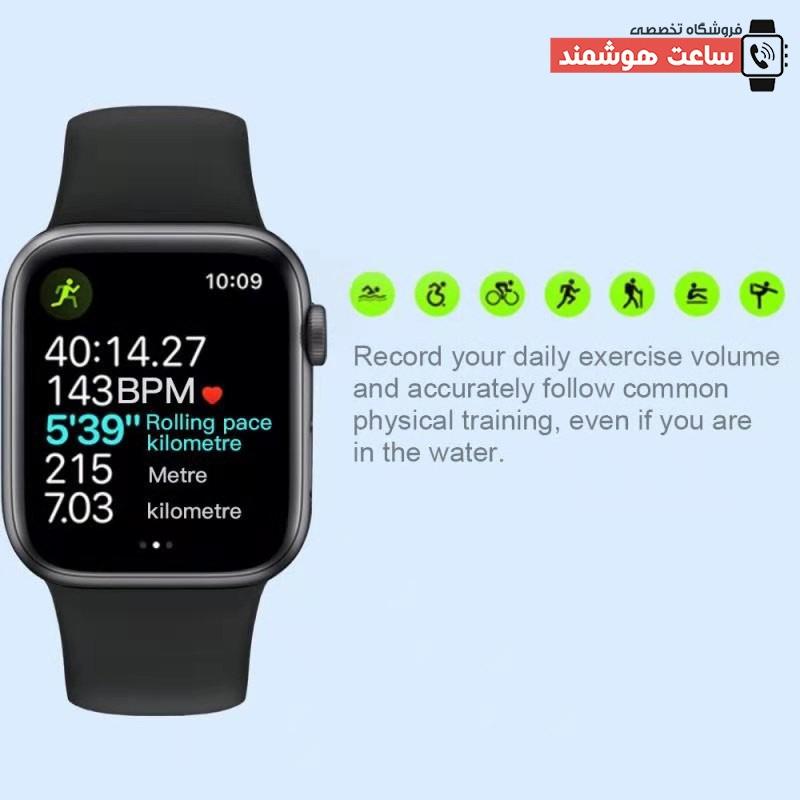حالت های ورزشی ساعت هوشمند HW22 Plus