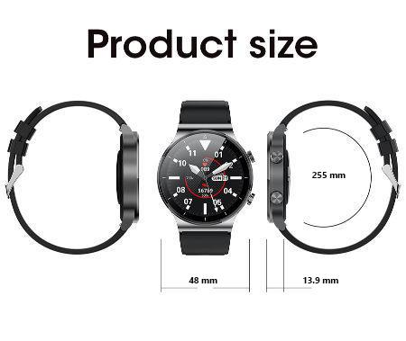 ابعاد ساعت هوشمند M2