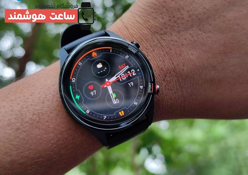 ظاهر زیبا و مدرن ساعت هوشمند Mi Watch Revolve Active