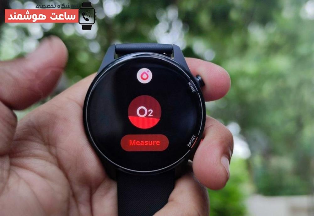 سیستمهای پایش سلامتی و تناسباندام ساعت هوشمند شیائومی مدل Mi Watch Revolve Active