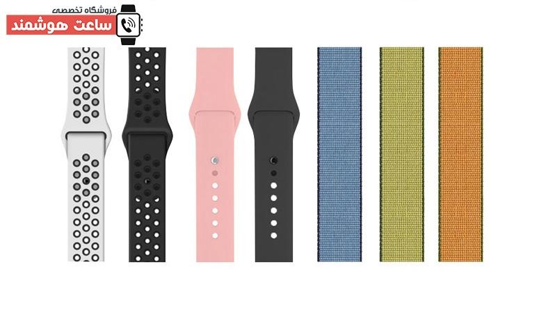 انواع بندهای ساعت هوشمند مدل H6 Pro
