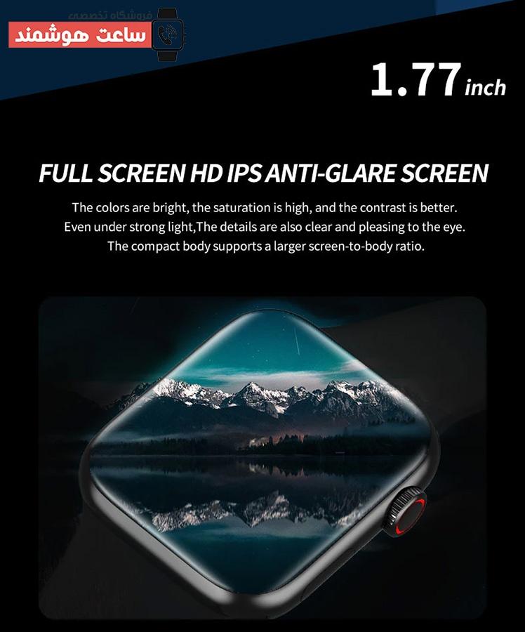 صفحه نمایش ساعت هوشمند HW19