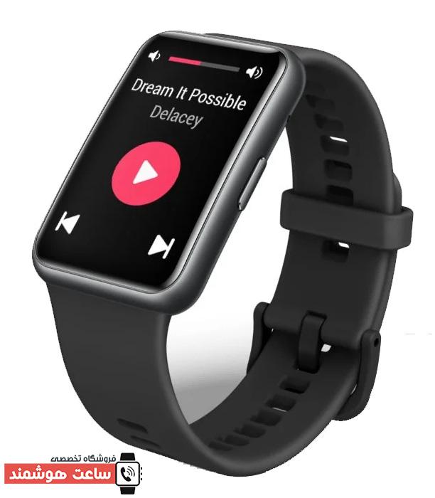 طراحی ظاهری شیک و صفحه نمایش خمیده ساعت هوشمند Watch Fit