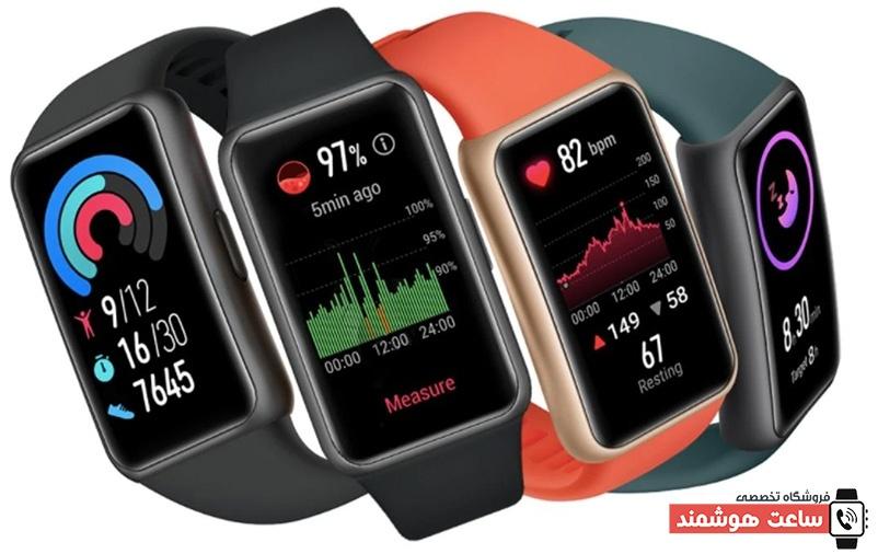 سنسورهای سلامتی ساعت هوشمند هوآوی مدل Watch Fit