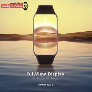 کیفیت صفحه نمایش مچ بند HUAWEI Band 6