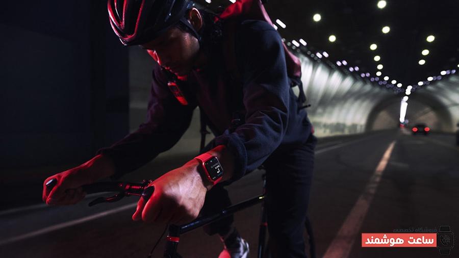 دوچرخه سواری با iWatch7