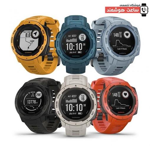 قابلیت های ورزشی و سلامتی ساعت Garmin Instinct