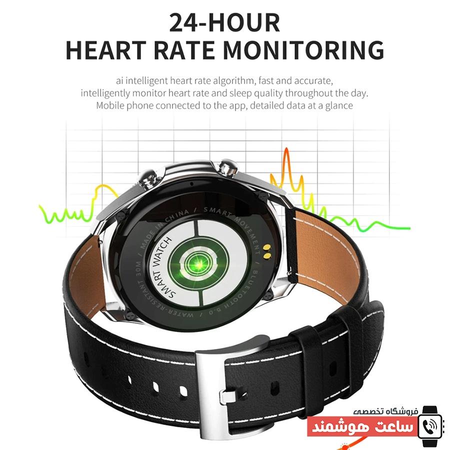 سنسورهای سلامتی ساعت هوشمند W3