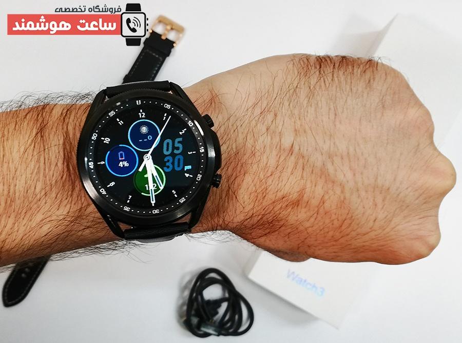 ساعت هوشمند مدل W3 به عنوان اسمارت واچ طرح سامسونگ