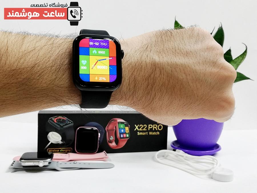 ساعت هوشمند مدل X22 Pro